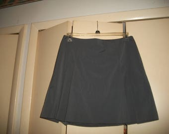 Vintage The Limited Grey Pleated Lined Skirt Size 8