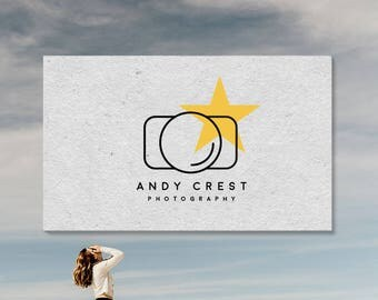Camera Logo. Photography Logo. Photographers. Logo and Watermarks. Premade Logo Designs. P20.