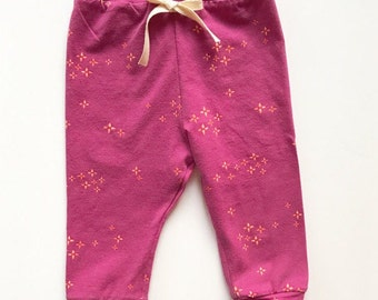Starburst leggings | girl pants | jogger pants | baby leggings | infant leggings | newborn leggings | toddler leggings