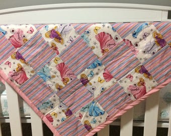 Princess baby/toddler blanket