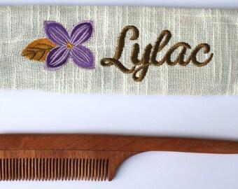 Women comb, Gift for her, Handmade comb, Neem comb, Natural wood comb, Non Static Comb, Organic Comb, Eco friendly Comb, Herbal Comb