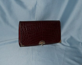 Genuine vintage bag! Reptile and genuine leather