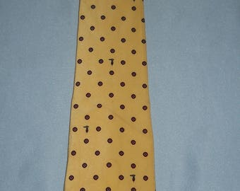 Authentic vintage Trussardi tie ! Silk !