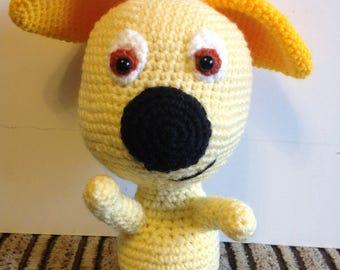 Crochet puppy Golovan