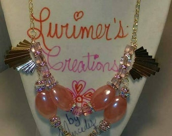"""20"""" Beautiful Pink Necklace"""