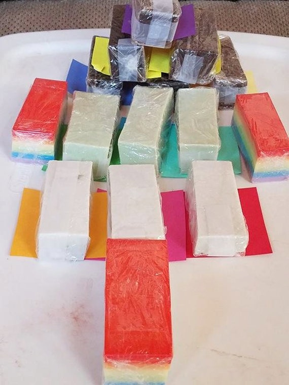 ON SALE Bar, Soap,already made, handmade, melt and pour, goats milk, sale soap, bar soap, cotton candy, glycerin, lavender, vanilla, jamine