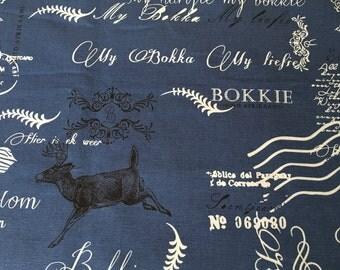 Afrikaans words fabric: My Bokka