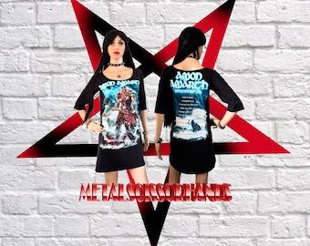 Amon Amarth - Jomsviking Three Quarter Sleeve Dress Handmade Melodic Death Metal Viking