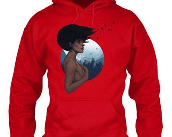 "ZENTENSE ""Return to Nature"" Hooded Sweatshirt"