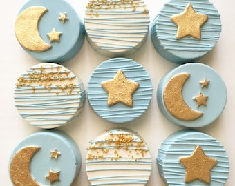 Twinkle little star chocolate covered oreos