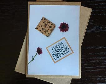 Handmade Photo Card - Birthday Card - TC05