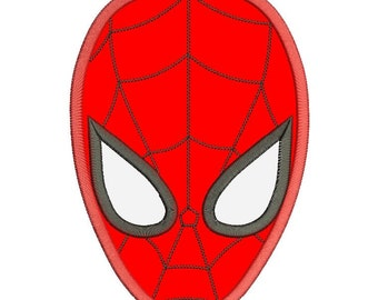 Spiderman Applique Design 3 sizes Instant Download