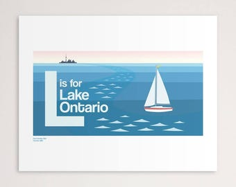 L is for Lake Ontario