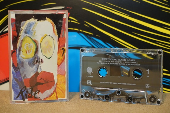 Going Blank Again by Ride Vintage Cassette Tape