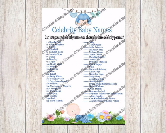 Free Printable Baby Shower Games | Pampers