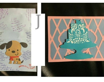 Unique birthday card
