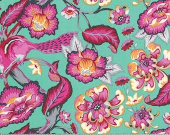 Spring Fabric - Tula Pink Fabric - Tula Pink Chipper Chipmunk fabric - Chipmunk Fabric - Animal fabric - woodland animal fabric
