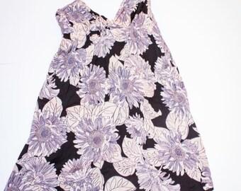 Vintage dress flared with halterneck size 40