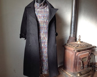 Made in Italy | Vintage Coat | Wool Coat | Small coat | Vintage Wool Coat | 90s Coat | Florentine Coat | Double Breast Coat |