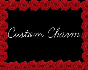 Custom Charm Keychain
