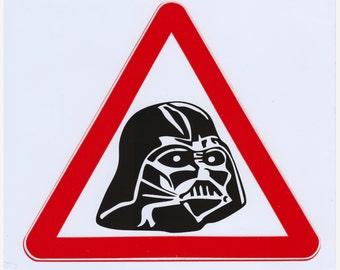 Darth Vader sticker. Star Wars sticker. Star Wars vinyl decal. Darth Vader laptop sticker Laptop decal