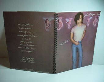 John Cougar Mellencamp Uh-Huh Record sleeve notebook