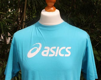 Retro Short Sleeved Aasics T-Shirt - Size Large