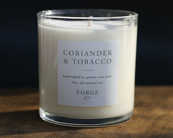 Coriander & Tobacco Soy Wax Candle