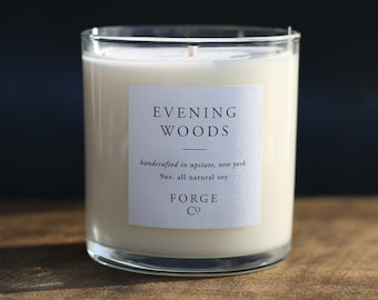 Evening Woods Soy Wax Candle