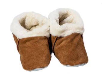 Shearling Slippers (Adult Size)