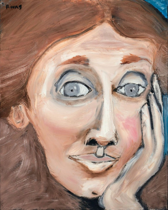 Virginia Woolf--8x10 Hand-Numbered Print