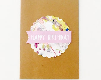 Happy Birthday (kraft card)