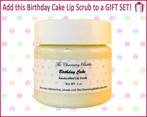 Birthday Cake Diy Lip Scrub Image Inspiration of Cake and Birthday