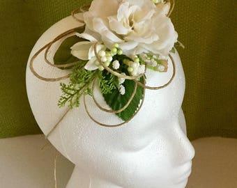 Bohemian  flower headband,flower crown,wedding flower headband,hat decoration