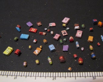 Quarter Scale Pantry Items Kit