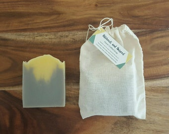 Patchouli and Aniseed Handmade Soap - Cold Process Soap - Vegan Soap