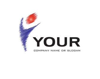 Pre-Made LOGO DESIGN - Customized with Your Name - Life Logo - Business Logo