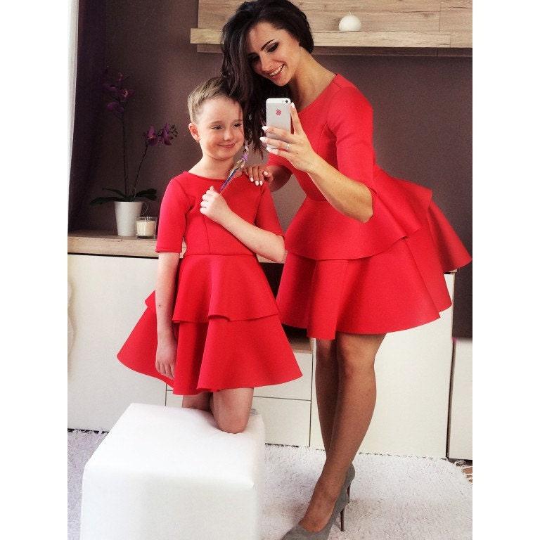 m re fille correspondant tenues maman et moi tenue par minimepuppe. Black Bedroom Furniture Sets. Home Design Ideas