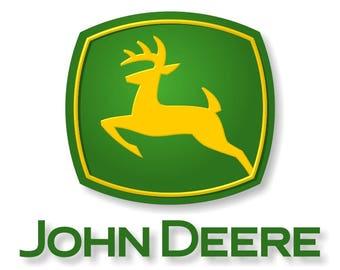 Elegant John Deere Decal / Sticker Die Cut Part 11