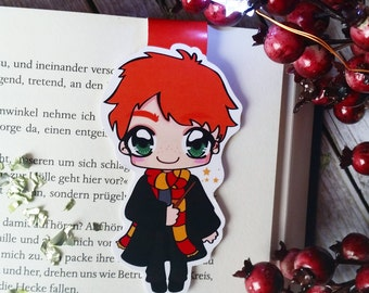 "Magnetic bookmarks ""Ron Weasley"" - inspired by Harry Potter"
