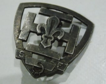 French military badge medal