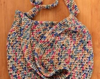 Crochet Market Bag/ Shoulder Bag/ Tote Bag Unlined