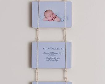 "Birth Announcement Photoblocks - 8x6"""
