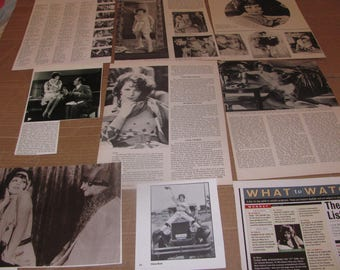 CLARA  BOW   #3   CLIPPINGS  #0308