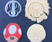 20% OFF SALE Mario Mushroom Toad Cookie Cutter