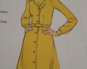 Dress vintage coat size 40/french vintage dress