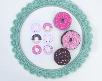 MADE TO ORDER - Crochet Donut Play Food
