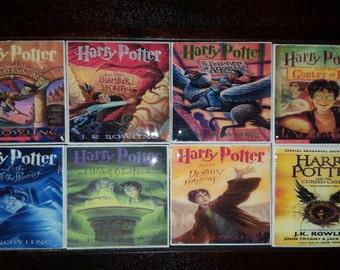 Harry Potter Tile Magnets Set of 8
