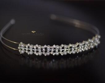 Bridal Crown, Wedding Tiara, Bridal Headpiece, Wedding Headpiece, Rhinestonel Bridal Tiara, Bridal Hair Jewelry,