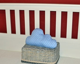 Cloud pillow small in light blue